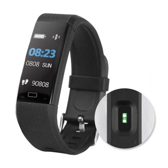 Fitness Tracker FontaFit 140CH schwarz Pulsmessung, Schritte, Kalorien, Push-Nachrichten