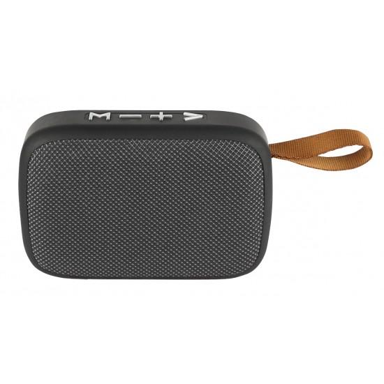 Essential Drahtloser Lautsprecher Hora sw / silber mit integrierter Freisprecheinrichtung, TF-Slot