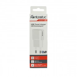 Essential USB AC charger 1A white