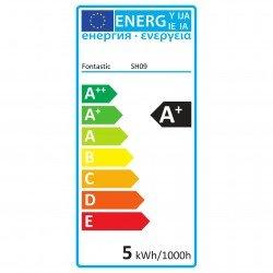 WLAN-LED-Lampe 4.5W E14, Dimmbar Farbe+Warmweiß komp. zu Android,iOS,Alexa,Google Assistant