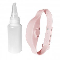 Disinfection Bracelet with beak bottle