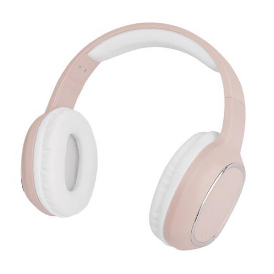 Essential Drahtloses On-Ear Headphone SPLEND rosa BT High Quality Speaker, One-Button Control