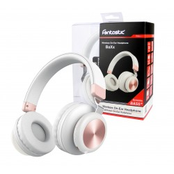 BT On-Ear Headset Baxx white/rosegold
