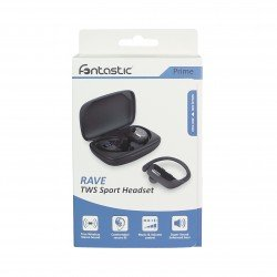 True Wireless Stereo Sports Earbuds Rave, black