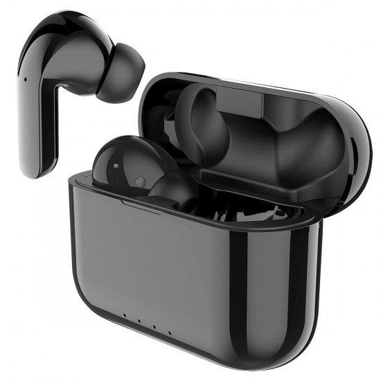 True Wireless Stereo Kopfhörer Soca sw Musik und Telefonieren, inkl. tragbare Ladestation