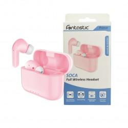 True Wireless Stereo Headset Soca pink