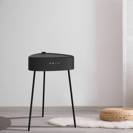 Wireless Speaker Mesu, Timeless Table Design black