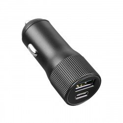 Car Charger Dual Port Alo 30 Watts grau