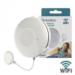 Wi-Fi Water Sensor white, Holder with Probe Cable comp with Android, iOS