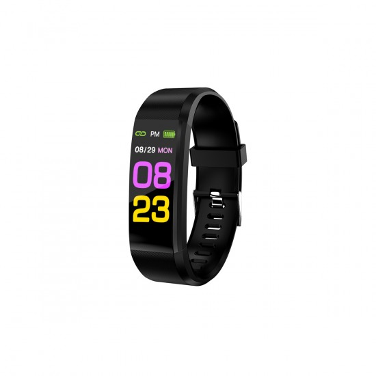 Fitness Tracker FontaFit 165CH Calor Temperatur-, Pulsmessung, inkl. Ersatzarmband sw