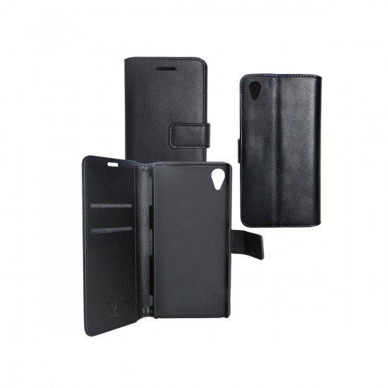 PU Tasche Diary Business schwarz komp. mit Sony Xperia Z3+