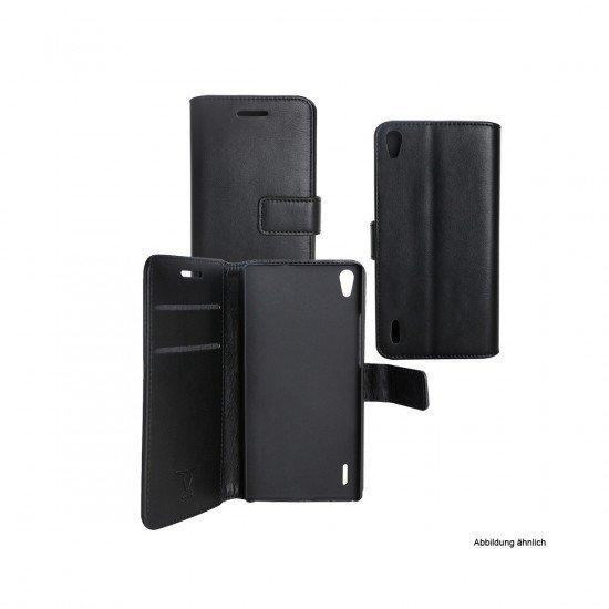 PU Tasche Diary Business schwarz komp. mit Huawei Honor 9
