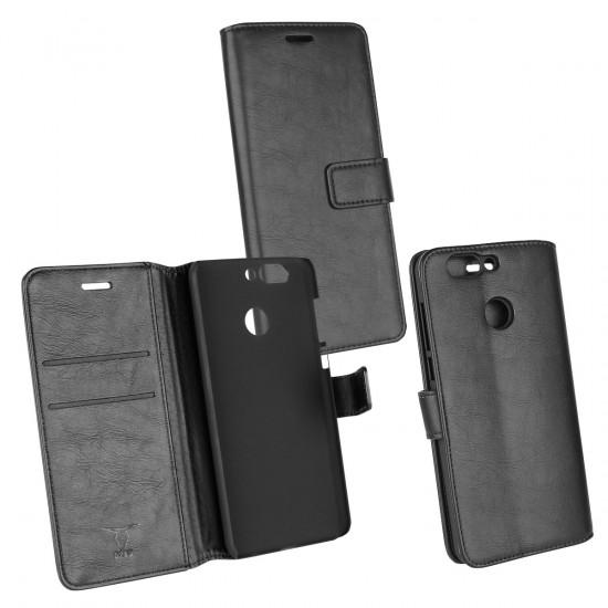 PU Tasche Diary Business schwarz komp. mit Huawei Nova 2 Plus (2017)
