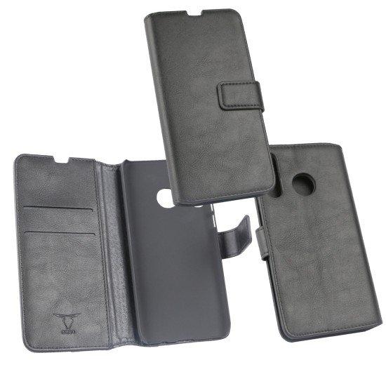 PU Tasche Diary Business schwarz komp. mit Huawei P30 Lite
