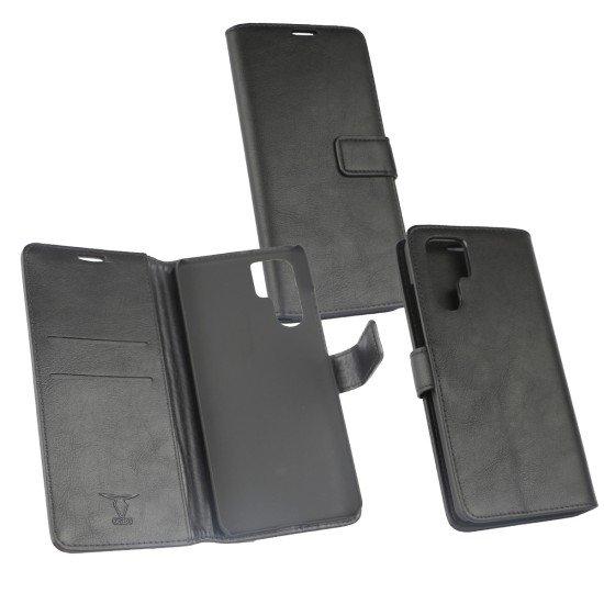 PU Tasche Diary Business schwarz komp. mit Huawei P30 Pro