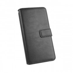 PU Case Diary Business black comp. with Huawei P40 Lite