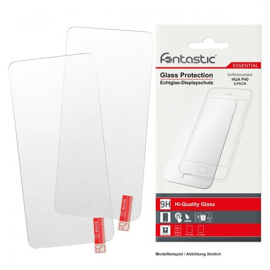 Screen protector tempered glass Essential, 2 pcs comp. with Huawei P40