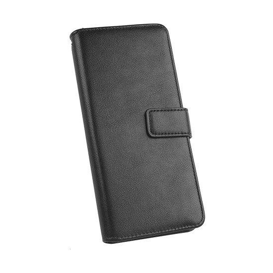 PU Tasche Diary Business schwarz komp. mit Huawei P40 Lite E / 5G