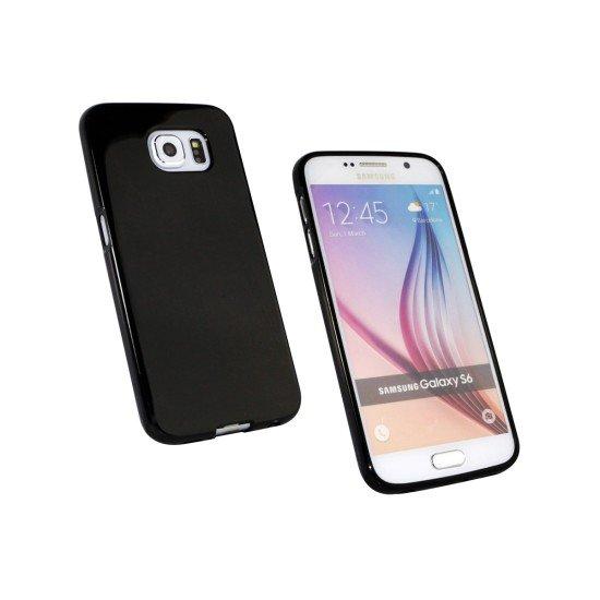 Softcover Basic schwarz komp. mit Samsung Galaxy S6