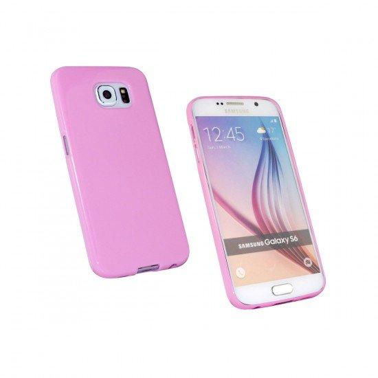 Softcover Basic pink komp. mit Samsung Galaxy S6