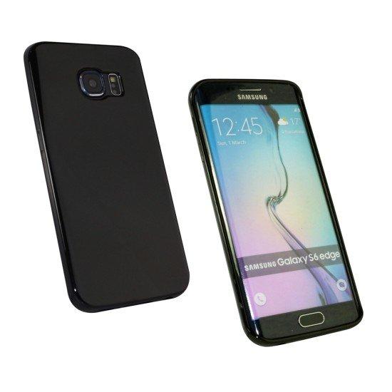Softcover Basic schwarz komp. mit Samsung Galaxy S6 Edge