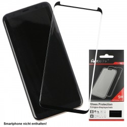 Curved Full Cover Tempered Glass Black Case Friendly, comp. Samsung Galaxy S8 Plus