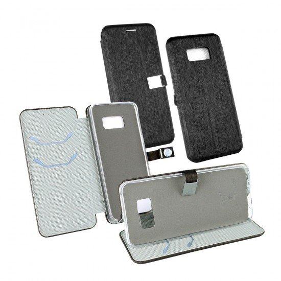 PU Tasche Diary Ela schwarz komp. mit Samsung Galaxy S8