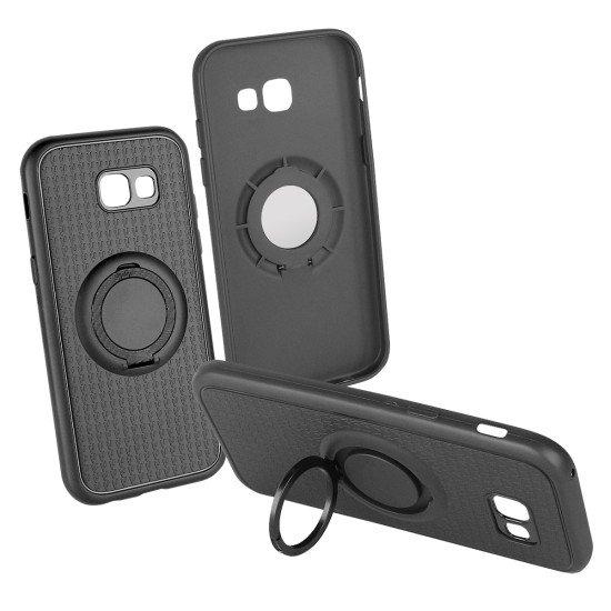 Backcover Carry 4 in 1 schwarz komp. mit Samsung Galaxy A5 (2017)