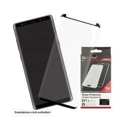 Curved Full Cover Tempered Glass Black comp. with Samsung Galaxy Note 8