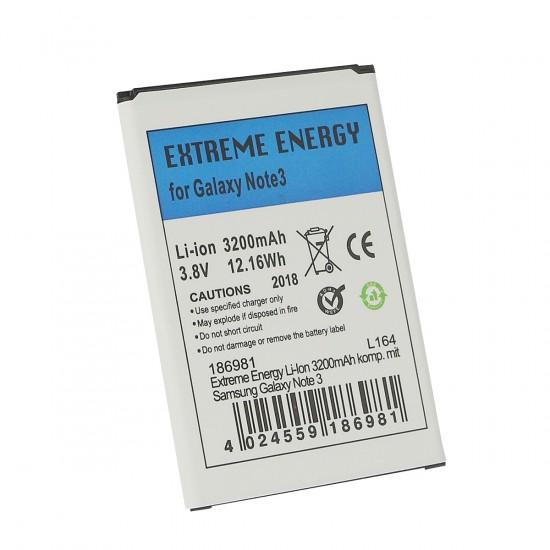 Extreme Energy Li-Ion 3200mAh komp. mit Samsung Galaxy Note 3