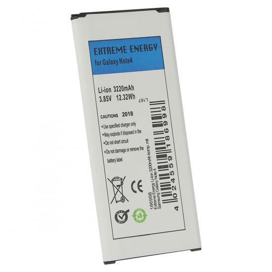 Extreme Energy Li-Ion 3200mAh komp. mit Samsung Galaxy Note 4