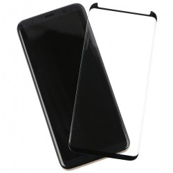 Curved Case Friendly Tempered Glass Black comp. with Samsung Galaxy Note 9