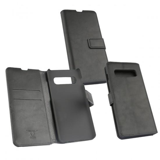 PU Tasche Diary Business schwarz komp. mit Samsung Galaxy S10 Plus