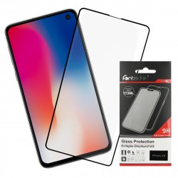 Curved Full Cover Tempered Glass Black comp. with Samsung Galaxy S10e