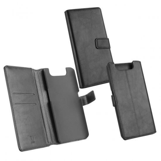 PU Tasche Diary Business schwarz komp. mit Samsung Galaxy A80