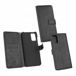 PU Case Diary Business black comp. with Samsung Galaxy S20 Plus