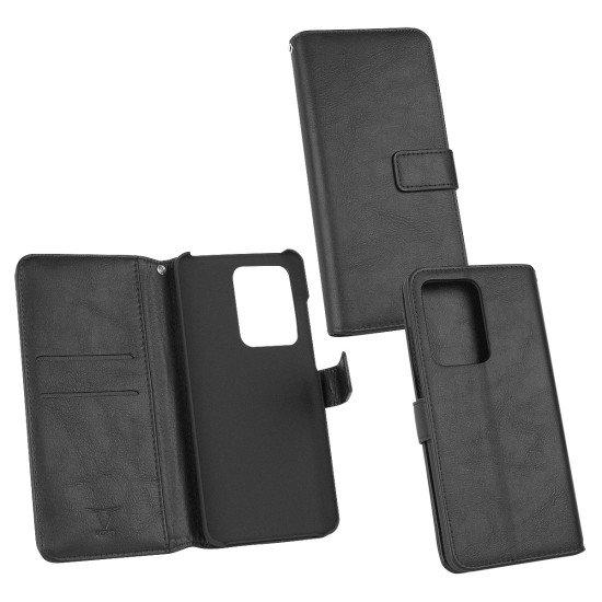 PU Tasche Diary Business schwarz komp. mit Samsung Galaxy S20 Ultra