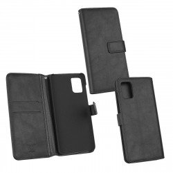 PU Case Diary Business black comp. with Samsung Galaxy A71