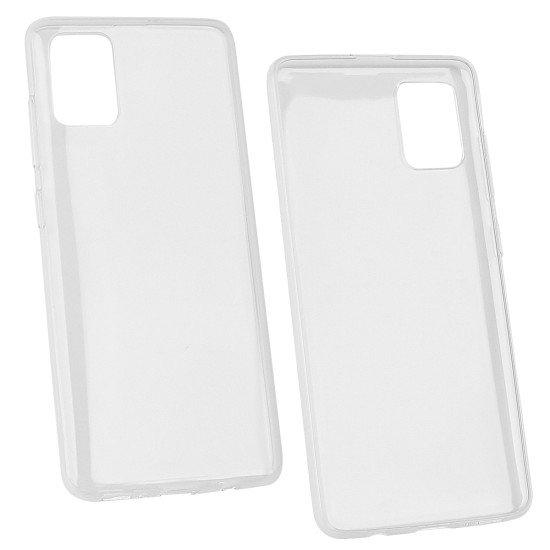 Softcover Clear Thin komp. mit Samsung Galaxy A51
