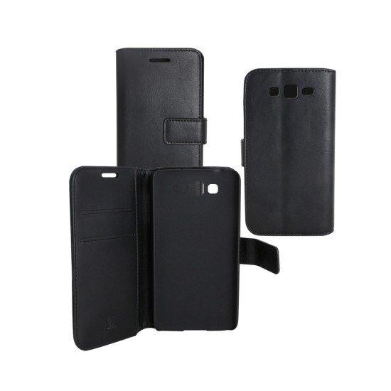 PU Tasche Diary Business schwarz komp. mit Samsung Galaxy Grand Neo
