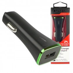 Car charger Quick 3 USB 18W black
