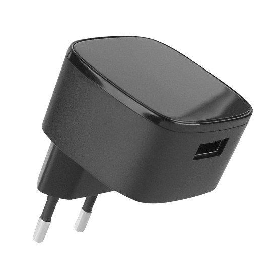 Netzteil Quick 2 USB 15W schwarz Fast Charge 2