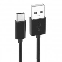 Essential Data cable USB 2.0 A > Type-C black