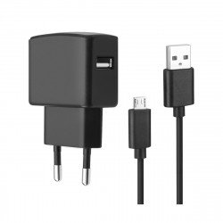 Essential Netzteil USB 2.4A schwarz
