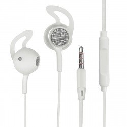In Ear Headset L180 with Extra Long Cable, white