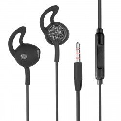 In Ear Headset L180 with Extra Long Cable, black