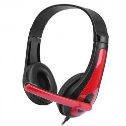 Gaming Headset TOXX, 2M Cable, black / red
