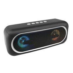 Drahtloser Stereo Lautsprecher Conga sw LED Lichteffekte, TWS kompatibel, FM Radio, AUX