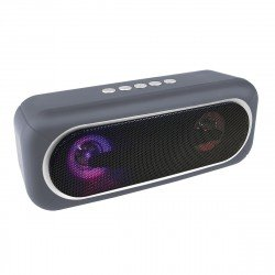 Drahtloser Stereo Lautsprecher Conga gr LED Lichteffekte, TWS kompatibel, FM Radio, AUX