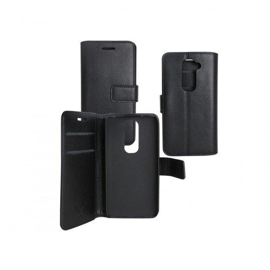 PU Tasche Diary Business schwarz komp. mit LG G2 Mini